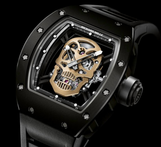 Richard Mille Skull Watch