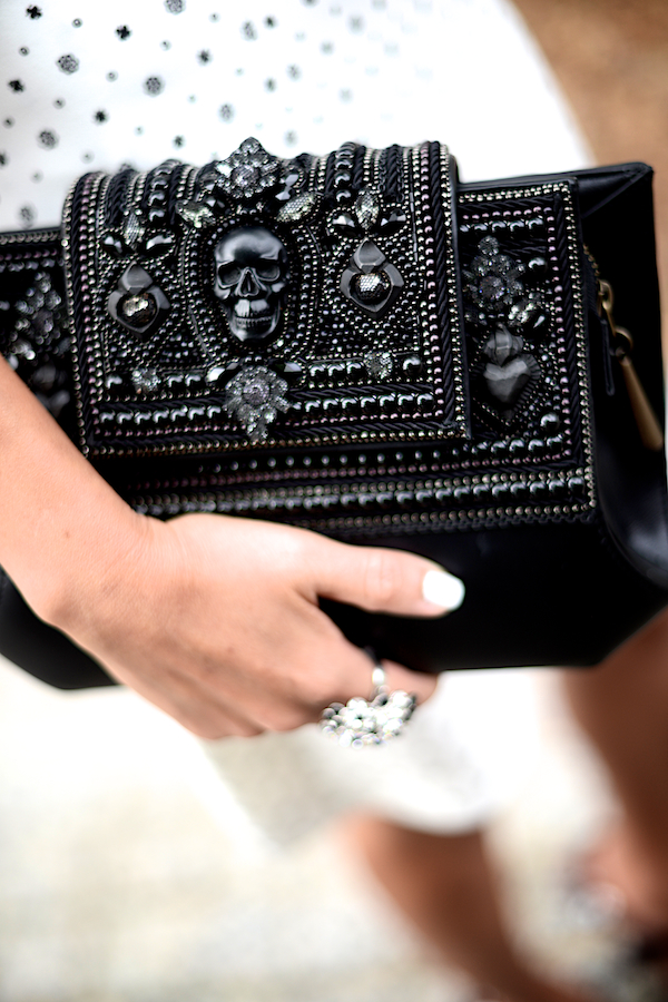 Skull Clutch by Bea Valdes