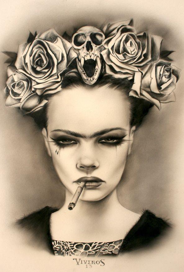 Viva La Frida by Brian Viveros