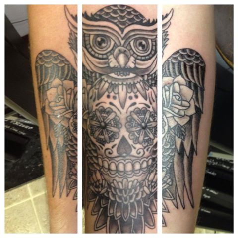 owl-sugar-skull-design
