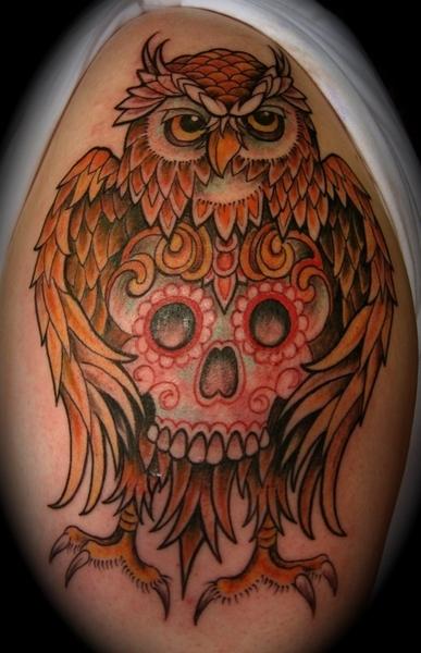 owl tattooo