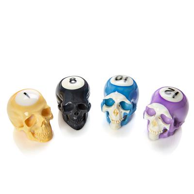 Billiard Ball Skull Set