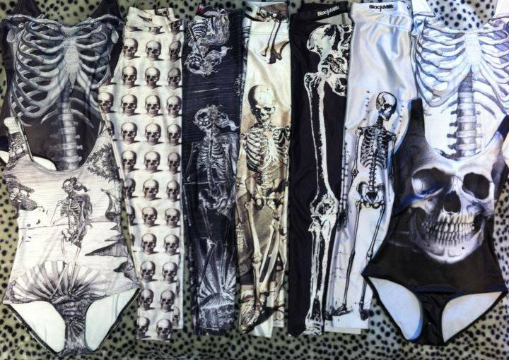 Black Milk Clothing skull collection