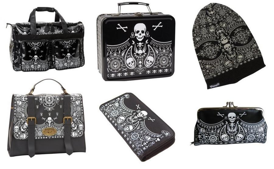 Loungefly Skull Bandana Collection
