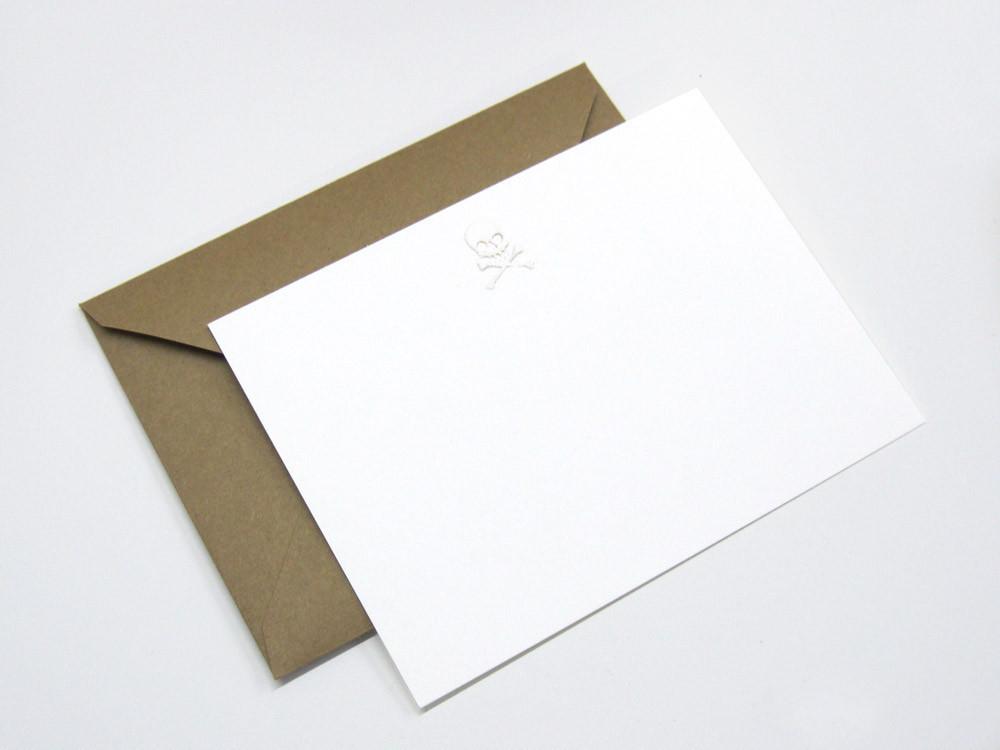 Skull note cards 1