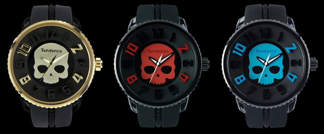 Skull watches from Tendence and Hydrogen (2)
