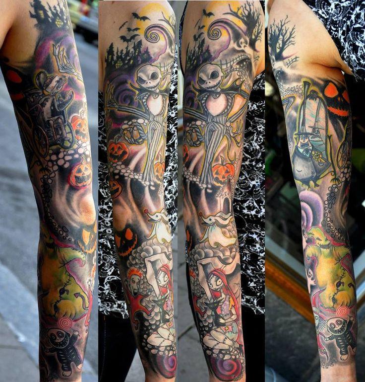 25 Jack Skellington tattoos part 2 (2)