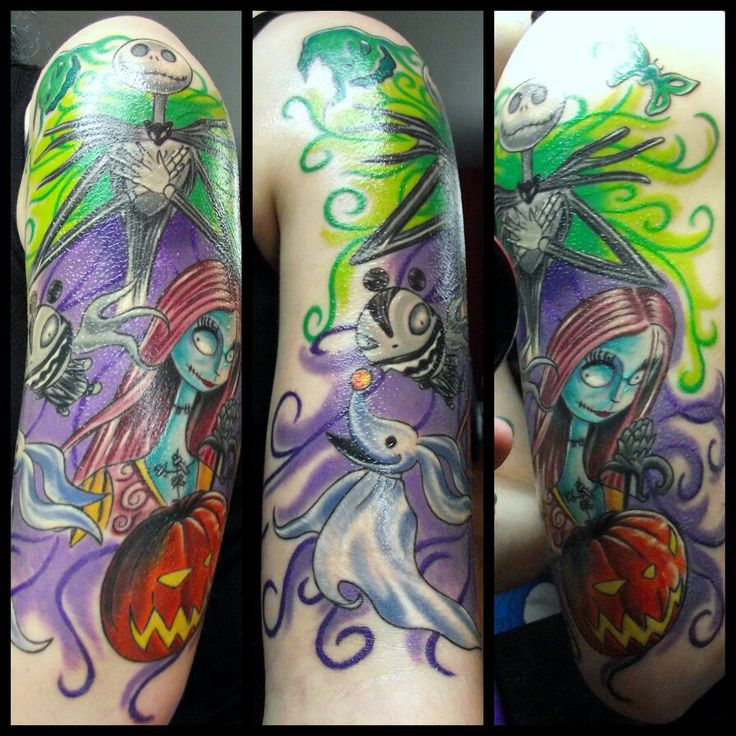 25 Jack Skellington tattoos part 2 (3)
