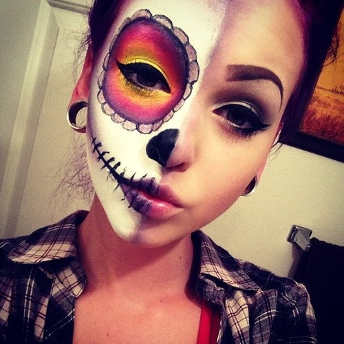 50 Sugar Skull makeup ideas 2