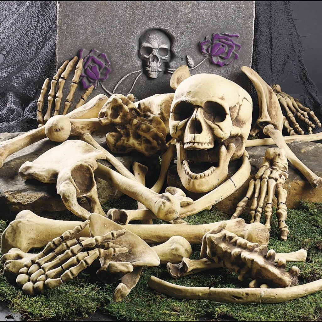 Halloween Bag of Skeleton Bones