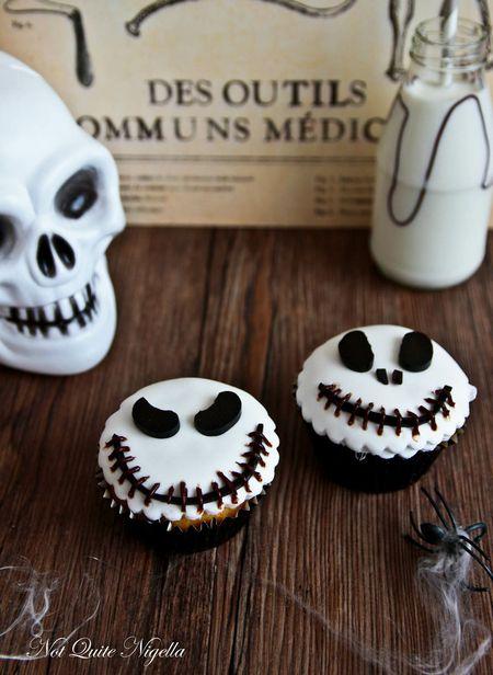 Jack Skellington Cupcakes 1