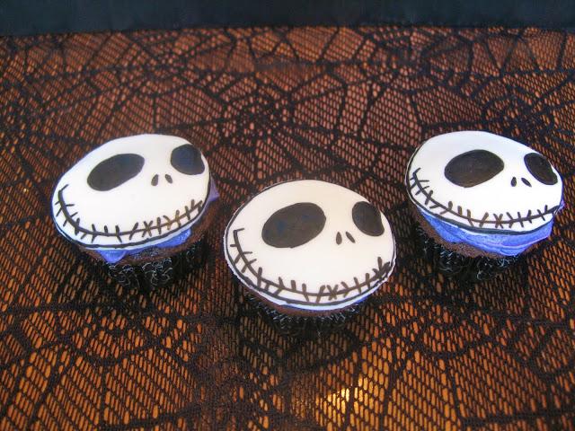 Jack Skellington Cupcakes (1)