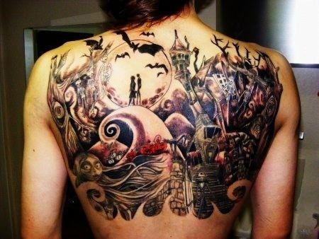 Night before Christmas tattoo (2)