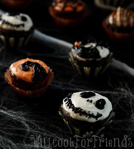 Nightmare before christmas cupcakes 2