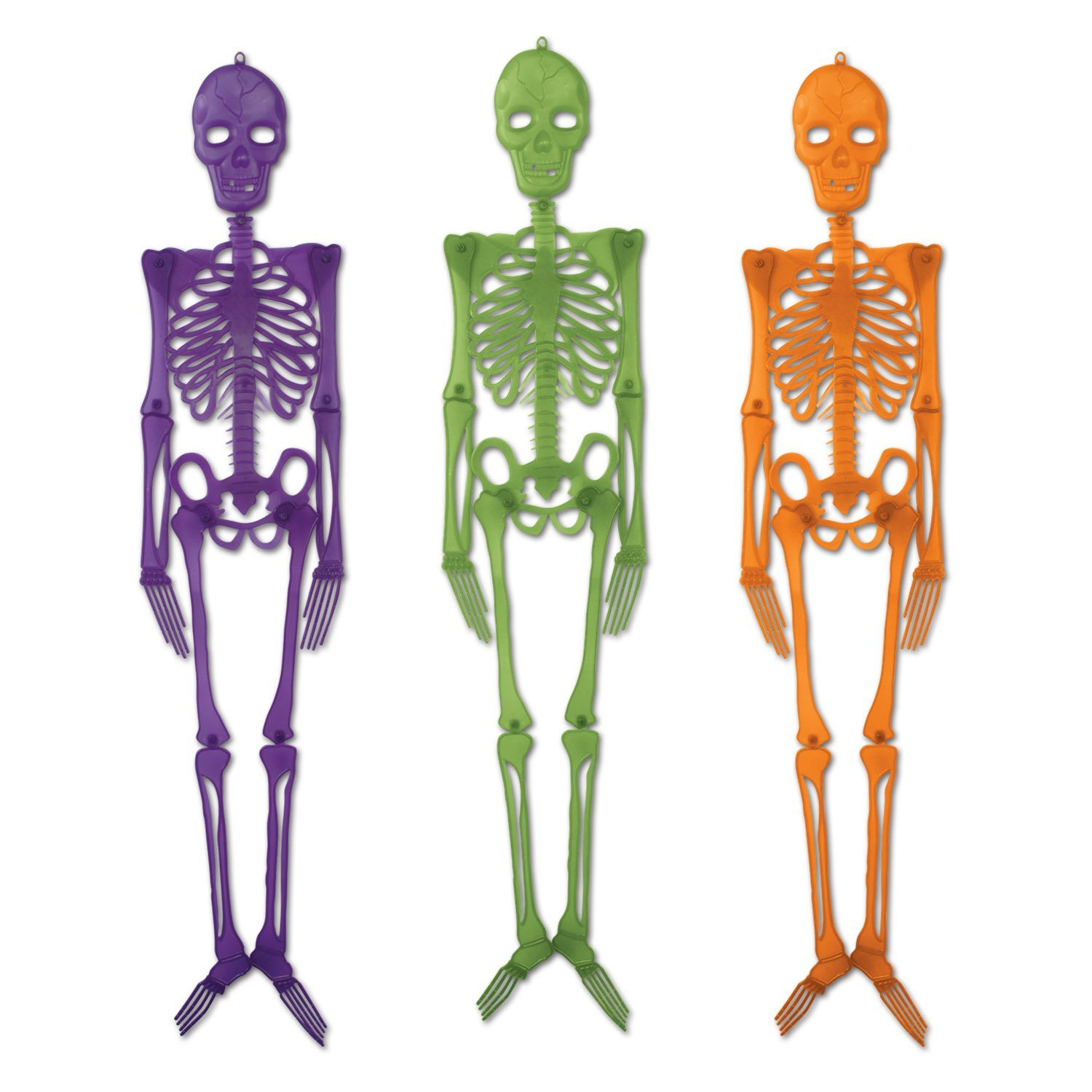 30 skull and skeleton halloween decorations