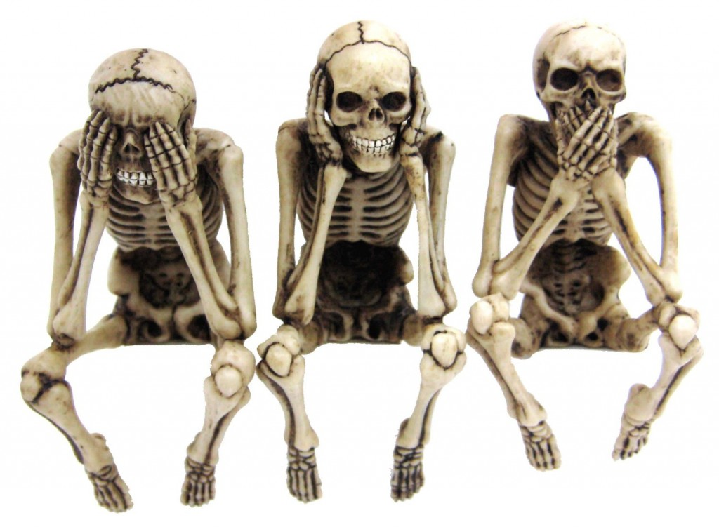 Skeleton Computer Toppers