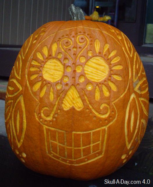 Skull Pumpkin (2)