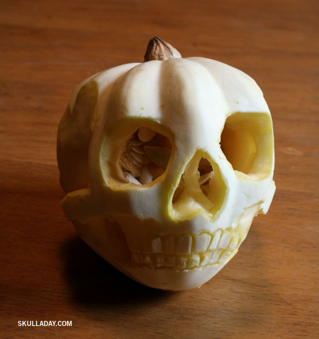 Skull Pumpkin Carving Ideas (2)