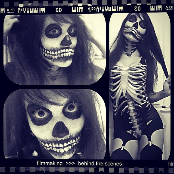 Skull makeup designs