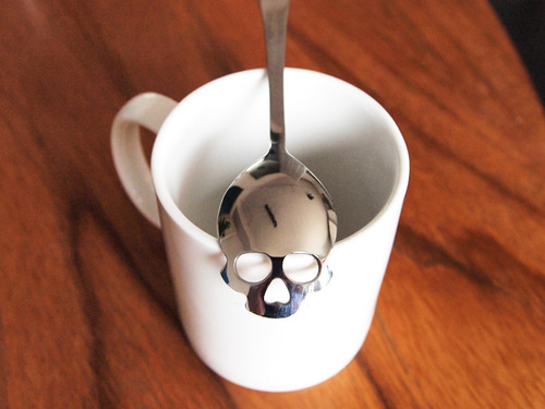 Sugar Skull Spoon by HUNDRED MILLION 1