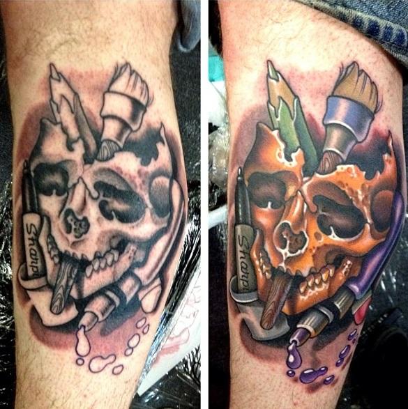 Timmy B tattoo 2
