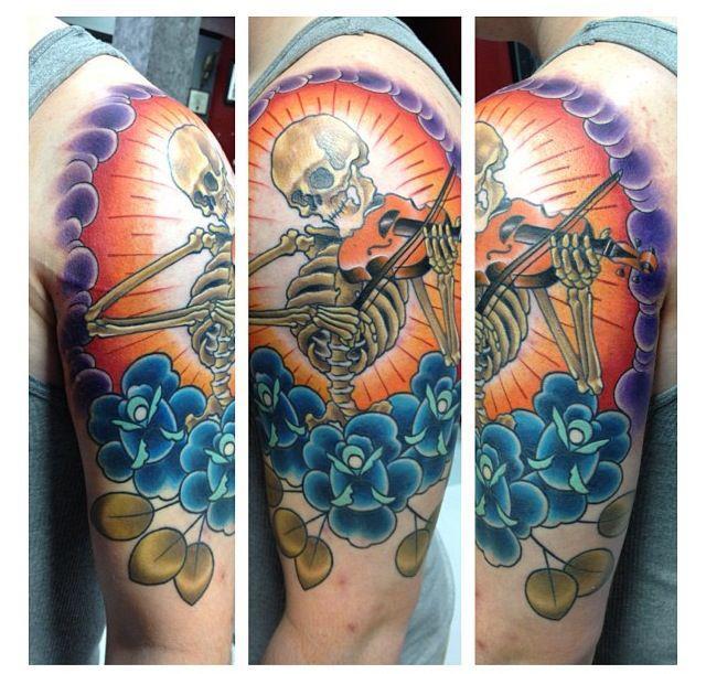 Tom Taylor tattoo