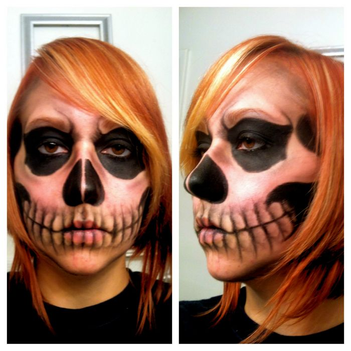 awesome skull makeup (2)