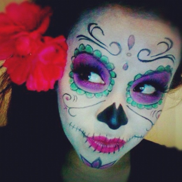 Gut bekannt 50 Sugar Skull makeup ideas VM87