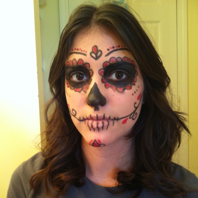 day of the dead makeup (2)