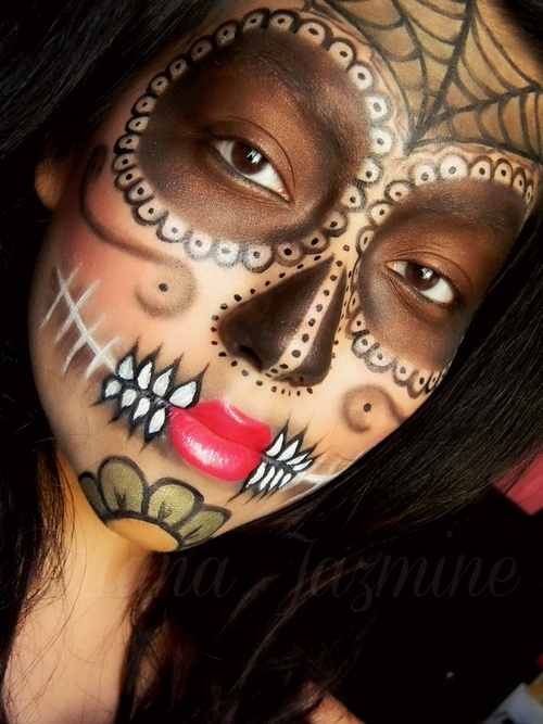 day of the dead makeup (4)