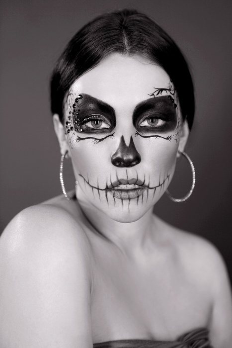 day of the dead skull (3)