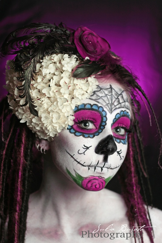 day of the dead sugar skull 1