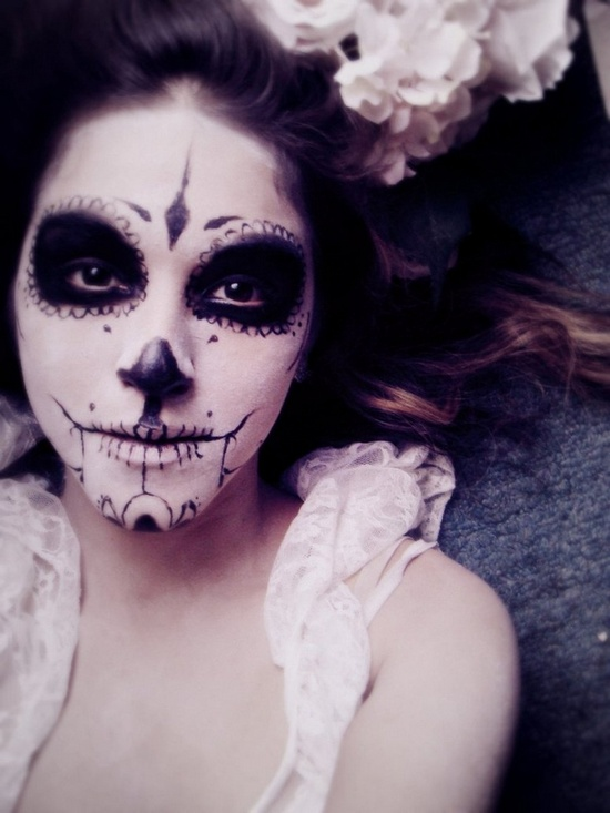 day of the dead sugar skull (2)