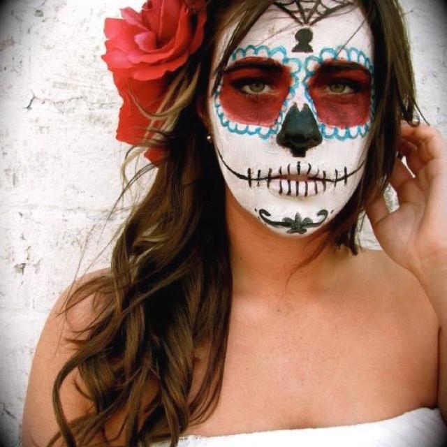 dia de los muertos makeup 2