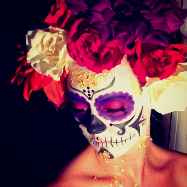 dia de los muertos makeup 3