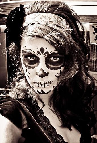 dia de los muertos makeup idea 4