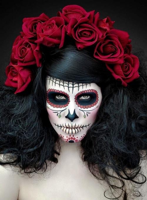 dia de los muertos makeup idea