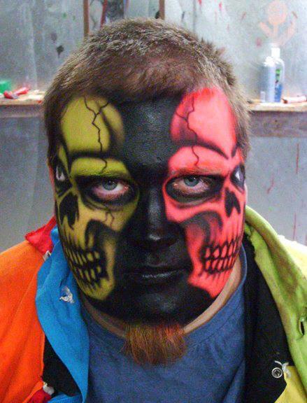 double skull makeup