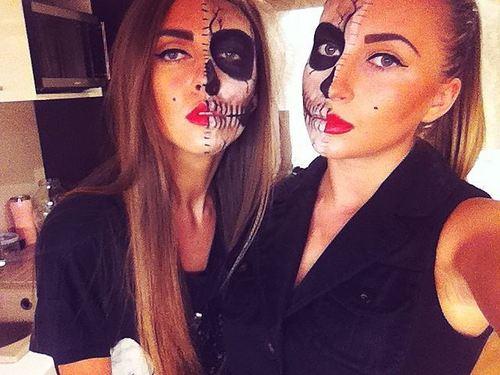 sexy skull makeup (2)