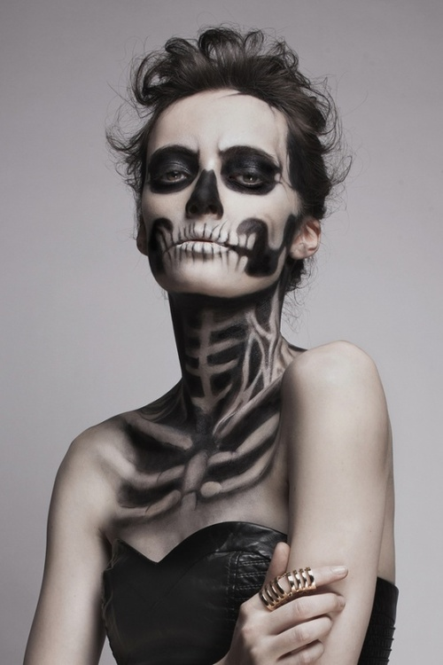 Best Skeleton Halloween Makeup Pictures - harrop.us - harrop.us