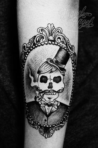 skull cameo tat