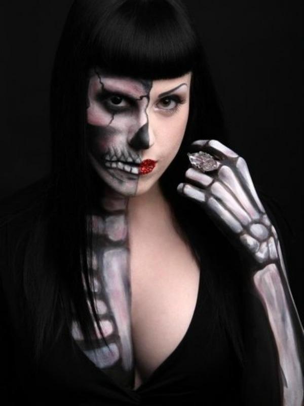 skull makeup 1