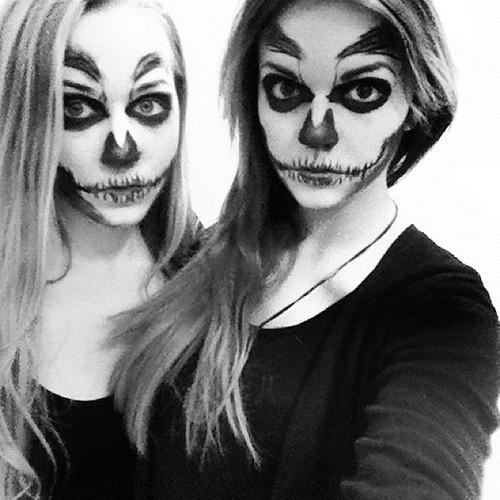 skull makeup (2)