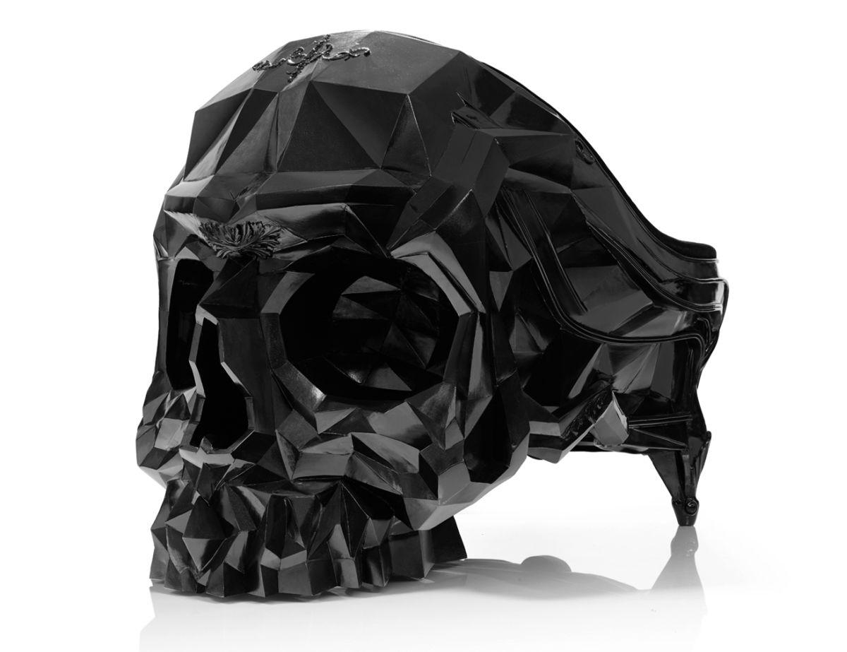 Skull Armchair by Harold Sangouard 1
