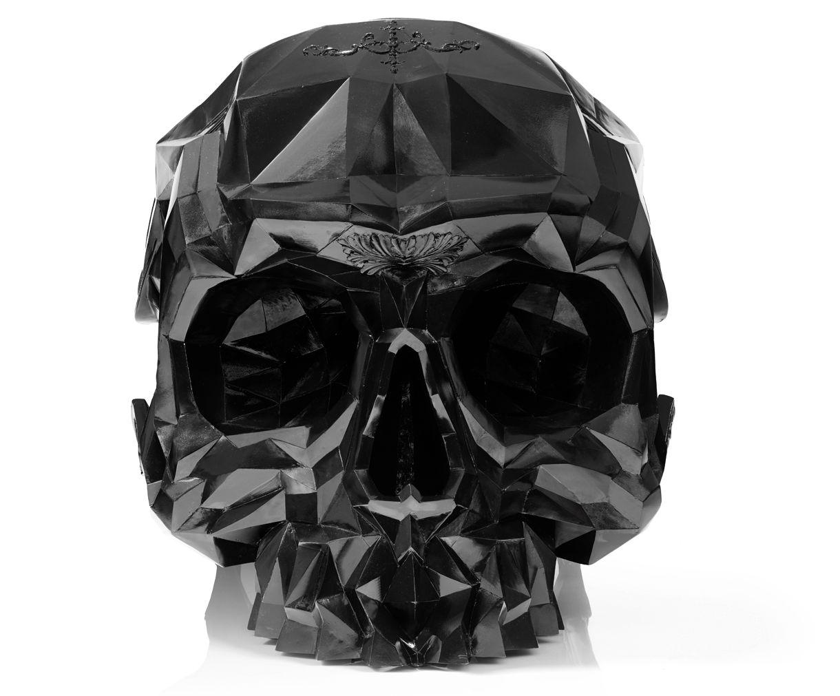 Black Skull Chair -