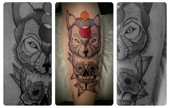 Skull tattoos by Tyago Compiani 1