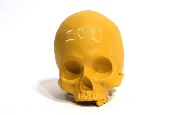 Chalkboard skulls (2)