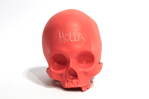 Chalkboard skull (4)