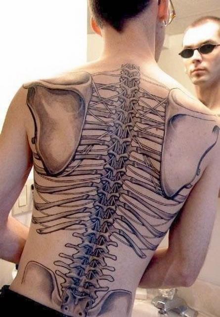 Skeleton Tattoo (2)