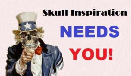 Skull Inspiration NEEDS YOU!